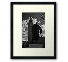 Churchill & Big Ben Framed Print