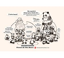 Planet Of The Bears Photographic Print