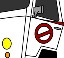 The Ecto-Machine  Sticker