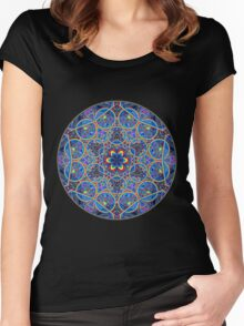 Infinite Refraction Women's Fitted Scoop T-Shirt