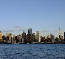 New York City Skyline by JimSchneider
