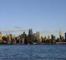 New York City Skyline by JimSchneider