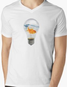 freedom of illumination Mens V-Neck T-Shirt