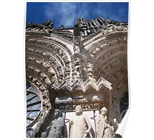 Reims Cathedral I Poster