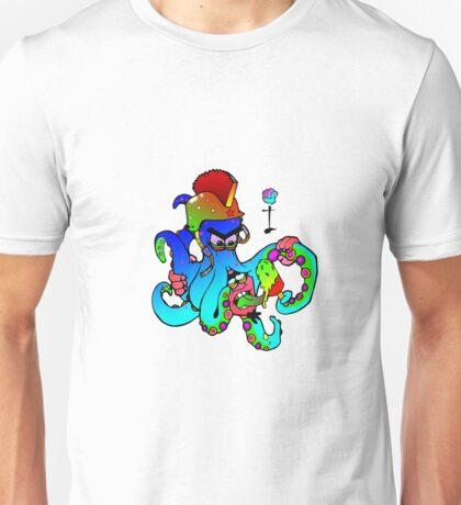 i-brow design: ( octoman ) Unisex T-Shirt