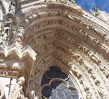 Reims Cathedral II by Talia Felix