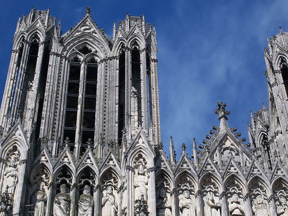 Reims Cathedral V by Talia Felix