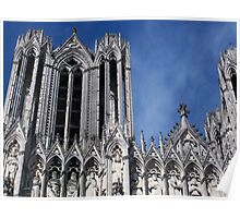 Reims Cathedral V Poster