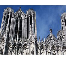 Reims Cathedral V Photographic Print