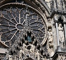 Reims Cathedral VII by Talia Felix