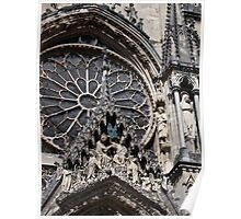 Reims Cathedral VII Poster