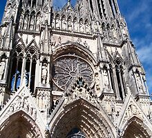 Reims Cathedral VIII by Talia Felix