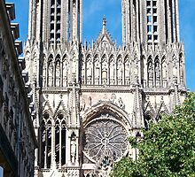 Reims Cathedral IX by Talia Felix