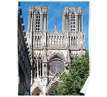 Reims Cathedral IX Poster