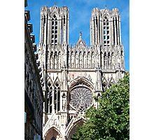 Reims Cathedral IX Photographic Print