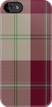 01497 Torridon Burgundy Fashion Tartan Fabric Print Iphone Case by Detnecs2013