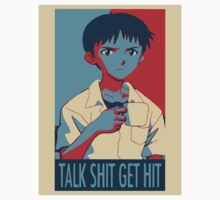 Shinji Ikari - Talk Shit Get Hit by Junkocchi