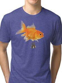 Balloon fish Tri-blend T-Shirt