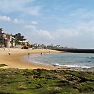 Estoril Beach view by kirilart