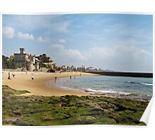 Estoril Beach view Poster