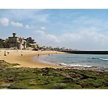 Estoril Beach view Photographic Print
