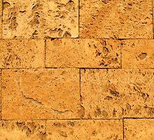Ancient Stone Blocks Background by kirilart