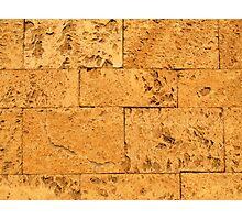 Ancient Stone Blocks Background Photographic Print