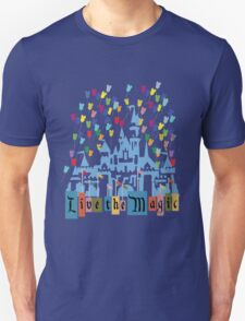 Live the Magic - Vintage Castle Unisex T-Shirt
