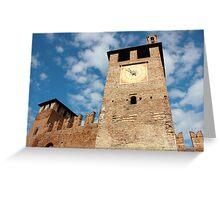 Castelvecchio in Verona Greeting Card