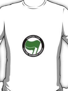 Support for Gaddafi T-Shirt