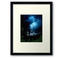 Calmness in the Storm of Life Framed Print