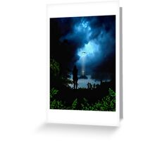 Calmness in the Storm of Life Greeting Card
