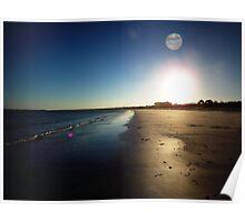 Callala Beach Sunset 1 Poster