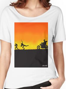 Sleazy rider Women's Relaxed Fit T-Shirt