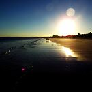 Callala Beach Sunset 2 by Paul Todd