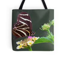 A neighborly butterfly Tote Bag
