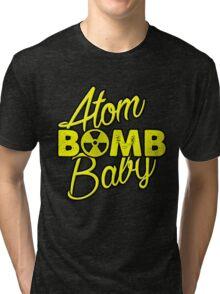 Atom BOMB Baby Tri-blend T-Shirt