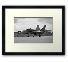 Enter the Hornet's nest. Framed Print