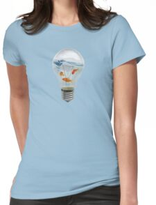 ideas and goldfish Womens Fitted T-Shirt