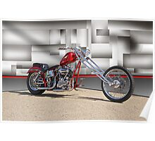 Red Chopper H Poster