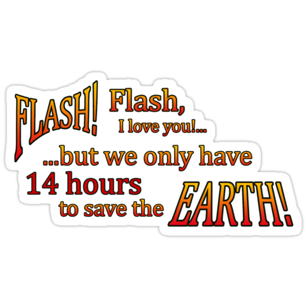 14 hours to save the Earth! by SubtleGeek
