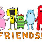 FRIENDS! Yo Gabba Gabba by Bantambb