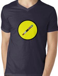 Captain Sonic Mens V-Neck T-Shirt