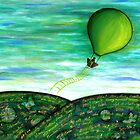 Come Fly With Me by Lisa Frances Judd~QuirkyHappyArt