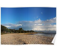 Roll Cloud over Bongaree Poster