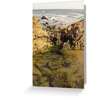 Laguna Beach Rocks Greeting Card