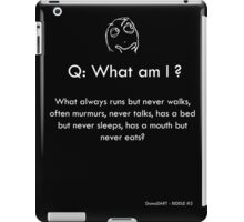 Riddle #2 iPad Case/Skin