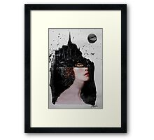 she mystery Framed Print