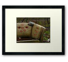 Bygone Luxury Framed Print
