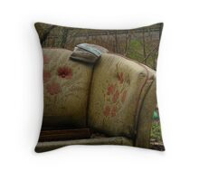 Bygone Luxury Throw Pillow
